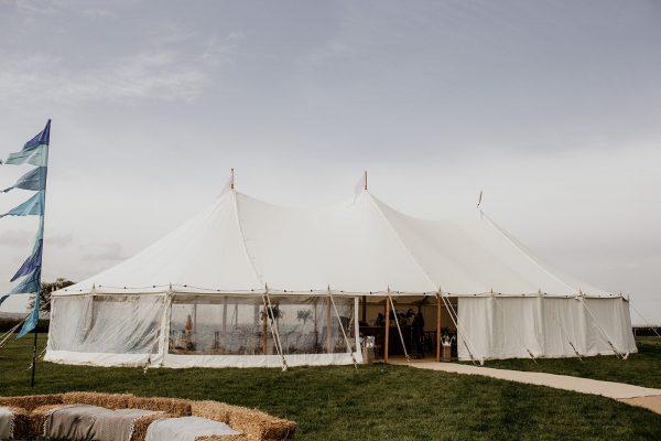 Sailcloth Tent - Sailcloth hire south west