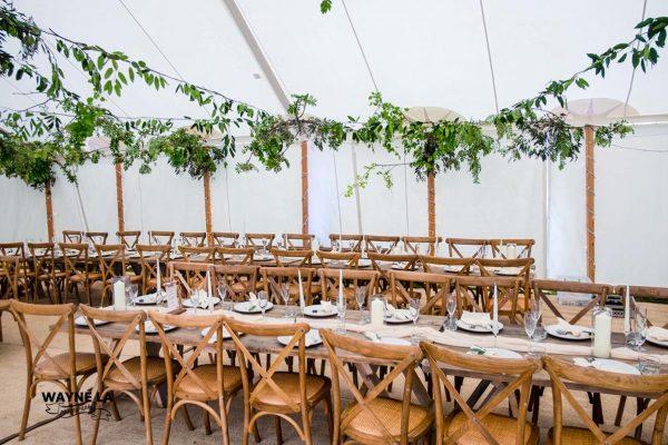 banquet farmhouse table