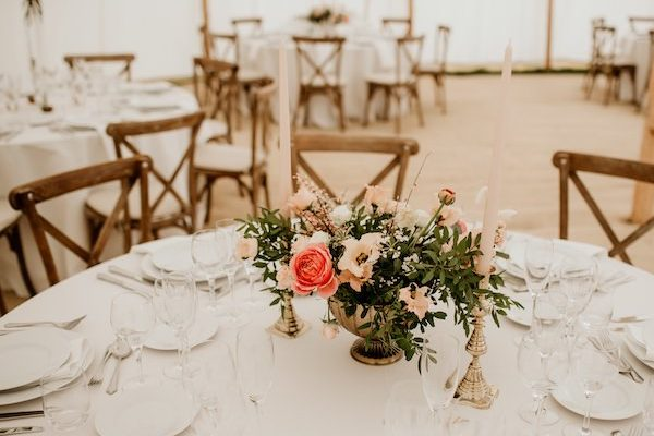 formal round tables marquee