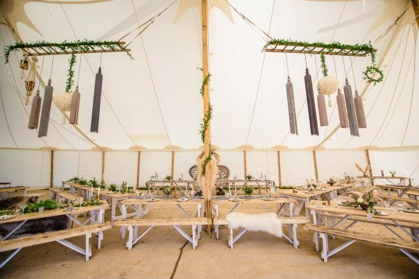 hanging decor marquee tent
