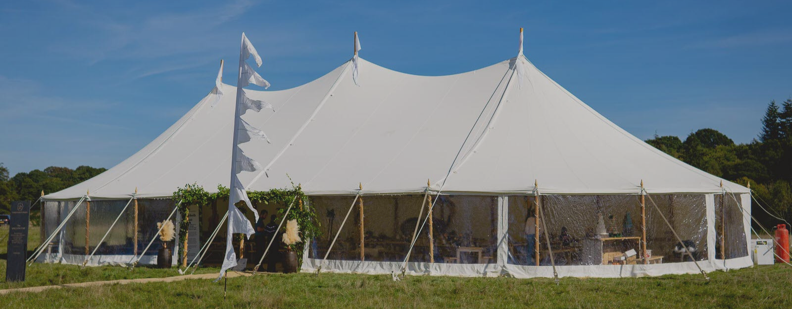 All About The Sailcloth Marquee
