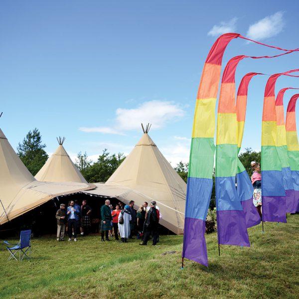 Wedding tent teepee Liverpool1